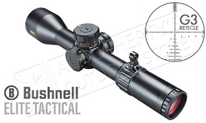 Bushnell Elite Tactical DMR II FFP Scope 3.5-21x50mm with G3 Reticle #ET36215G