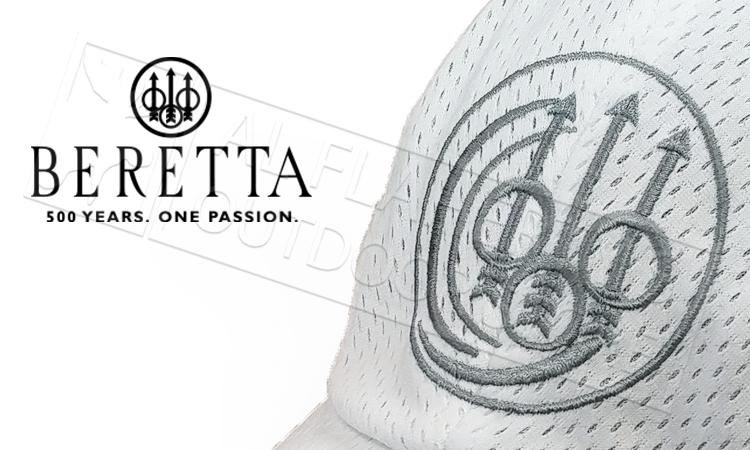 Beretta Uniform Pro Cap in White #BT170029110530UNI