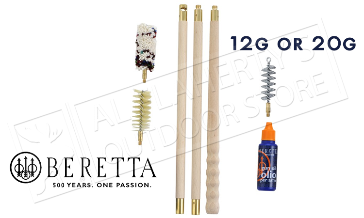 Beretta CK Shotgun Cleaning Kit, 12 or 20 Gauge