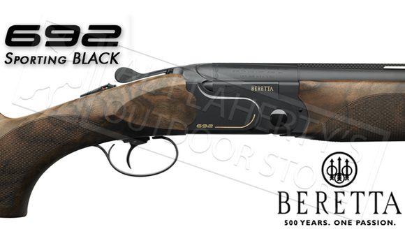 "Beretta 692 Sporting Black, 12 Gauge 30"" with Adjustable B-Fast Stock #4P4"