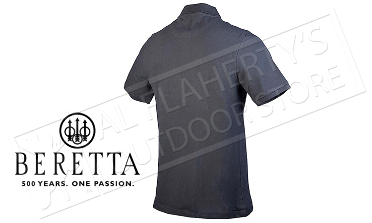 Beretta Classic Polo in Blue Nights #MP01207207 0521