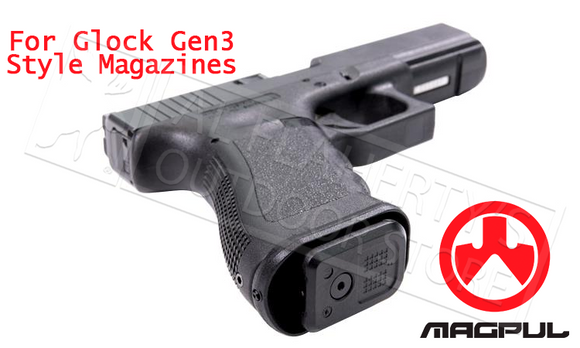 Magpul GL Enhanced Magazine Well - For Glock Gen3 Style Magazines #MAG908