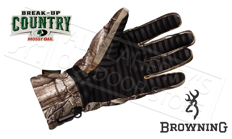Browning Hell's Canyon BTU Glove in Mossy Oak Break Up Country Camo, Medium to XL #30784428