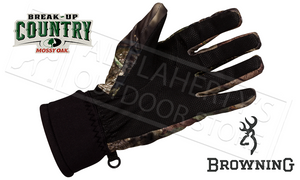Browning Hell's Canyon Proximity Glove in Mossy Oak Break Up Country Camo, Medium to XL #30781328