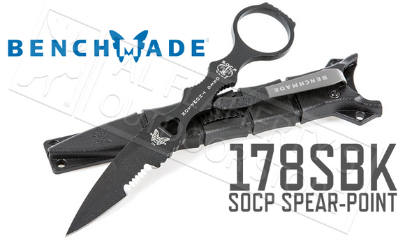 Benchmade 178 SOCP Spear-Point Knife #178SBK