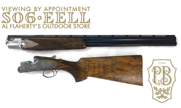 "Beretta SO6 EELL Deluxe Field Gun with Pheasant & Floral Engraving, 12 Gauge 28"" Barrel #3G16532100441"