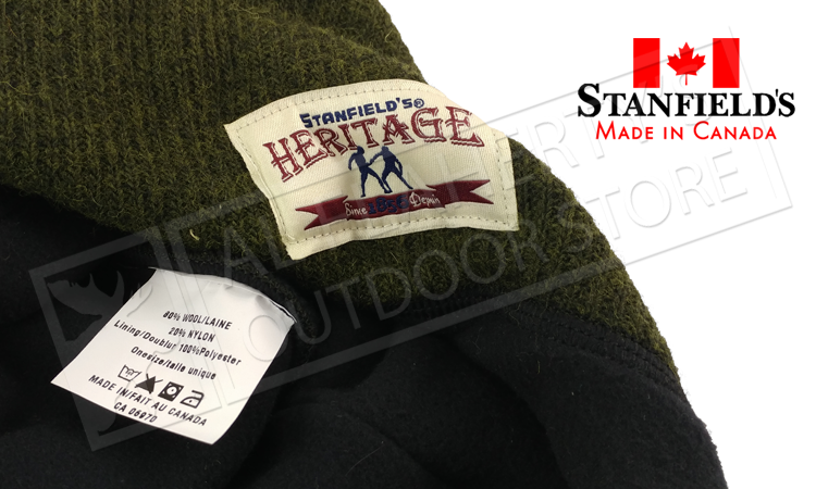 Stanfield's Heritage Wool Toque, Various Colours #1319