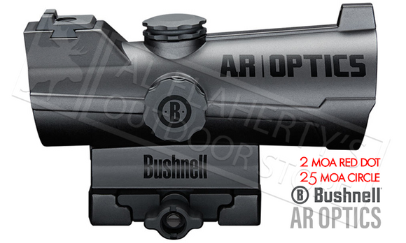 Bushnell AR Optics Incinerate Red Dot, 2MOA #AR750132