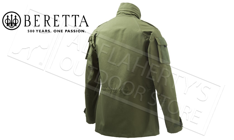 Beretta Broom Military Field Jacket in Green, Sizes 54-56 Italian #GU203T4140804