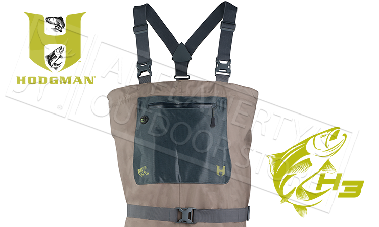 Hodgman H3 Stocking Foot Fishing Waders, Various Sizes #H3CS