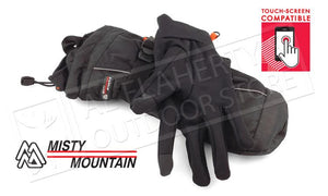 Misty Mountain Heat Zone 3-in-1 Thinsulate Mitts with Gloves, L-XL #3499
