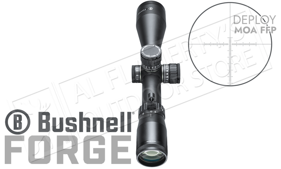 Bushnell Forge Riflescope 2.5-15x50mm with Deploy MOA FFP Reticle #RF2155BF1