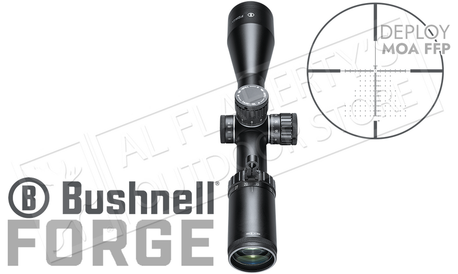 Bushnell Forge Riflescope 4.5-27x50mm with Deploy MOA FFP Reticle #RF4275BF1