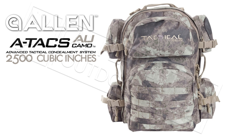 Allen Intercept Tactical Pack in A-TACS Camo, 48.5L Capacity #10859