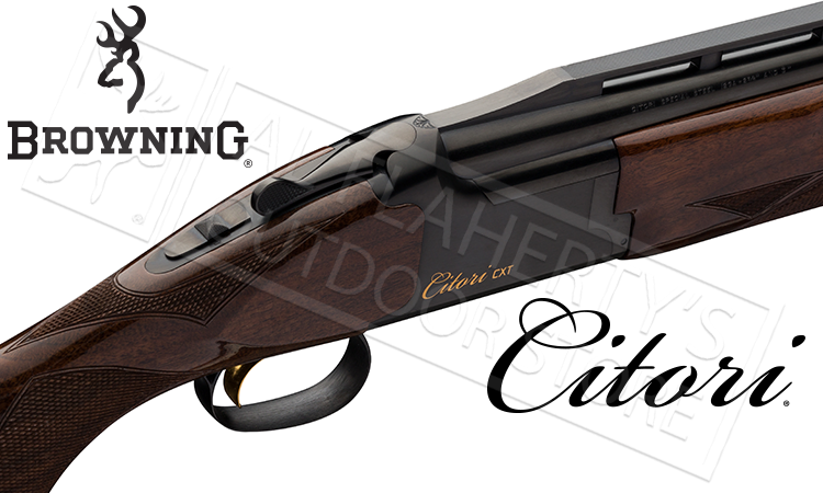 Browning Citori CXT with Adjustable Comb with High Rib 12 Gauge Trap Shotgun #018075327