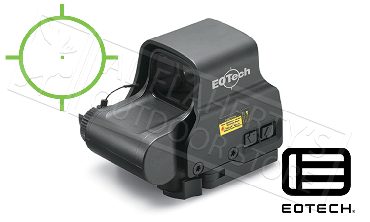 EOTech EXPS2 Green Holographic Sight with QD Mount and Side Controls, -0 Reticle #EXPS2-0GRN