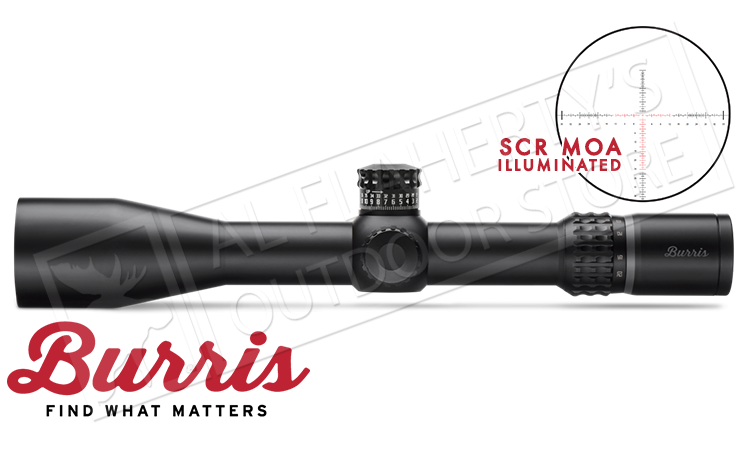 Burris XTR II Scope 4-20x50mm with Illuminated SCR MOA Reticle #201043