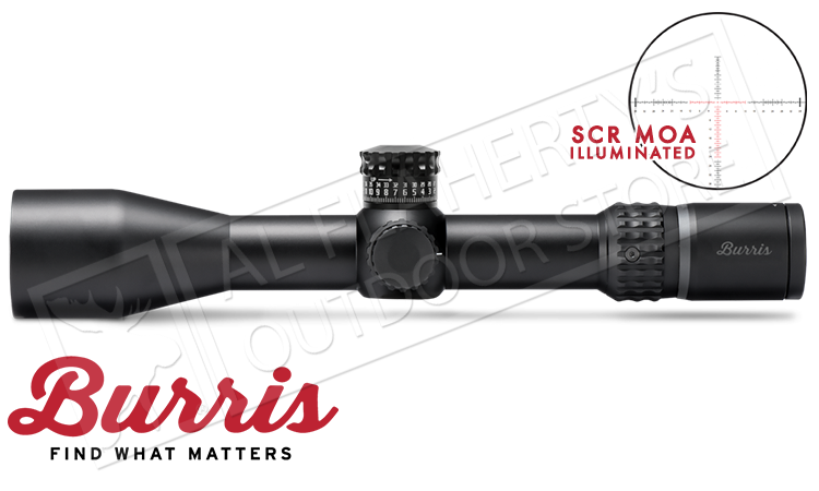 Burris XTR II Scope 3-15x50mm with Illuminated SCR MOA Reticle #201032