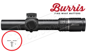 Burris XTR II Scope 1-8x24mm with Illuminated Ballistic Circle Dot Reticle #201018