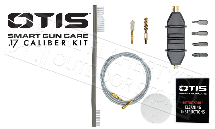 Otis Patriot Gun Cleaning Kit - 17 Caliber #FG-701-17