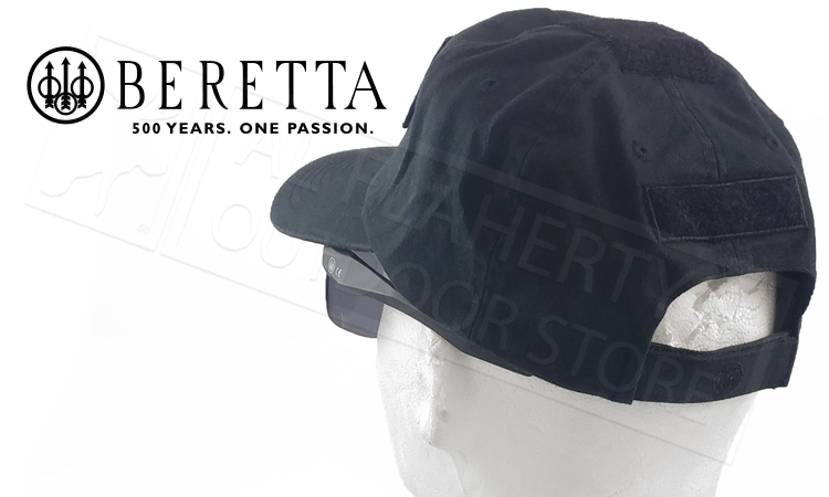 Beretta Tactical Flat Cap with Beretta Patch #BC620091440999