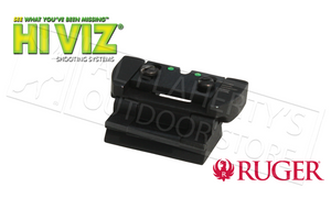 HiViz Ruger 10/22 Fiber Optic Rifle Sight Set #RG1022