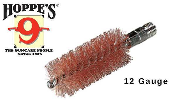 Hoppe's Phosphor Bronze Brush Rod-End, 12 Gauge Shotgun #1314P