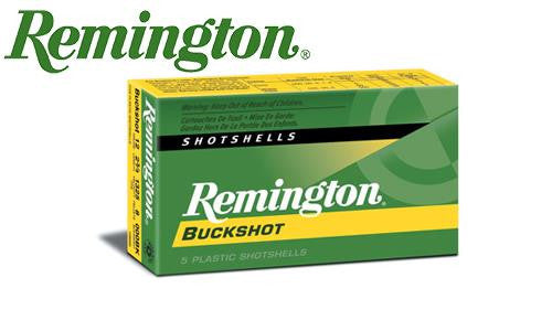"<b>(Store Pickup Only)</b><br> 12 Gauge - Remington Express Buckshot Shells, 2-3/4"" 00-Buck, Box of 5 #12B00"