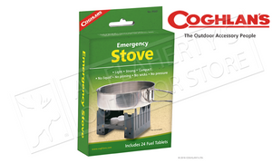 Coghlan's Emergency Stove, Includes 24 Fuel Tablets #9560