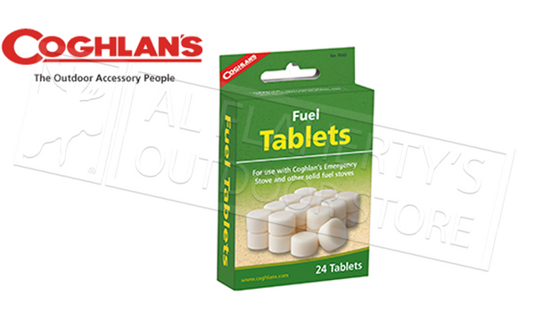 Coghlan's Fuel Tablets, Pack of 24 #9565