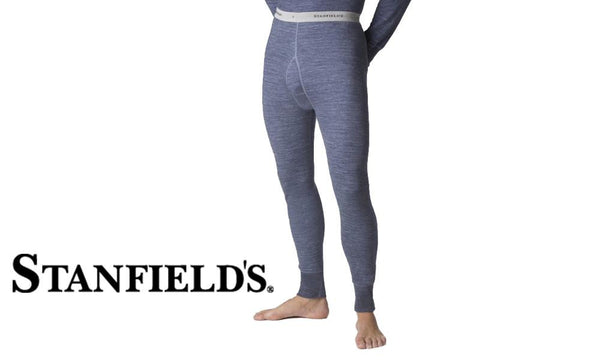 Stanfields Two Layer Wool Blend Long Johns #8812