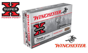 Winchester Super X, 7mm Rem Mag Power Point, 175 Grain Box of 20 #X7MMR2