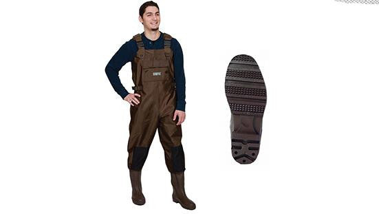 Compac PVC Chest Wader with Cleated Sole #2390