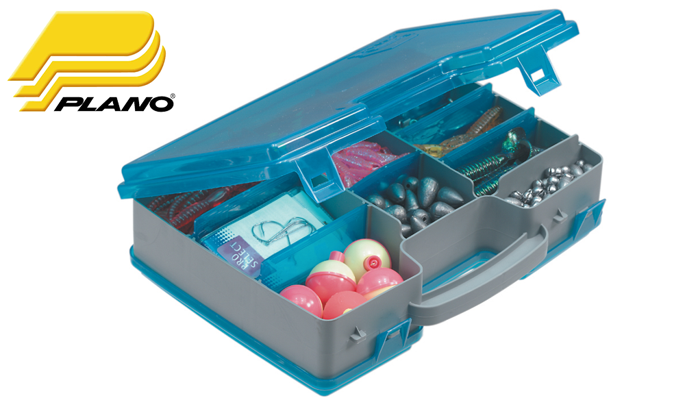 "Plano 1715-02 Medium Two Sided Organizer, 11.25""x8.38""x3"""