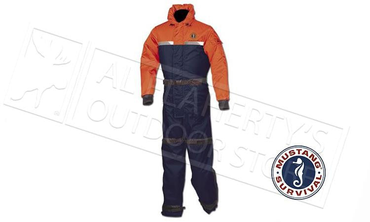 Mustang MS195 Integrity Deluxe Floating Suit Navy