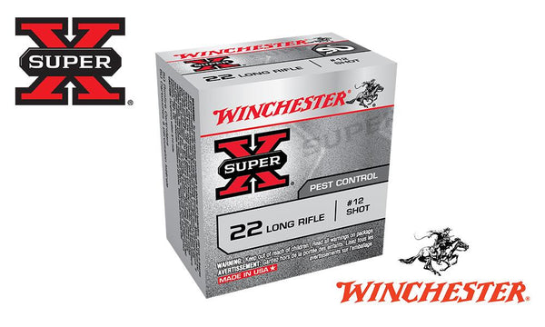 <b>(Store Pickup Only)</b><br>Winchester Super X, 22LR, No. 12 Shot, Box of 50 #X22LRS