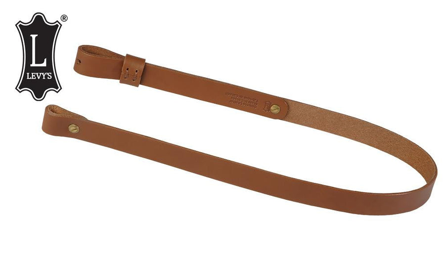 "Levy's Leathers Natural Oil-Tan Rifle Sling, 33"" - 41"" #S7-NAT"