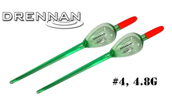 Drennan Crystal Float Bobbers, 4.8g Pack of 2 #DRBB40-P