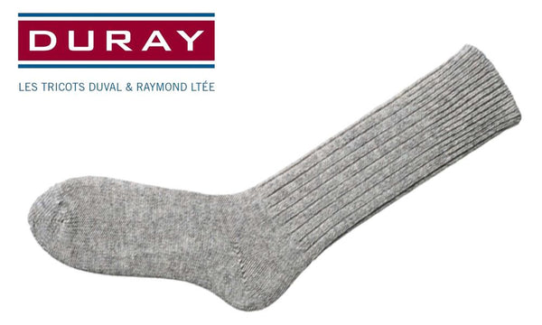 Duray Army Work Sock, Natural Grey, Size 12 #4012