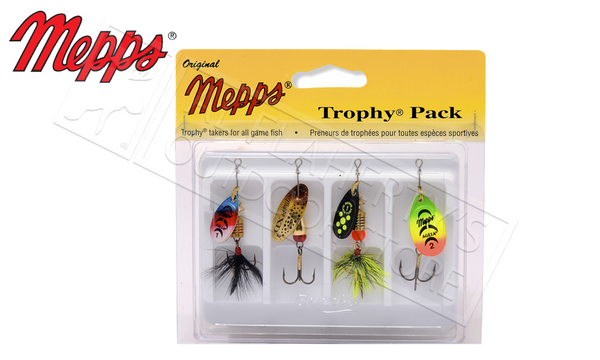 Mepps Kit - Trophy 4-Pack, Size 1-2 #4-T12