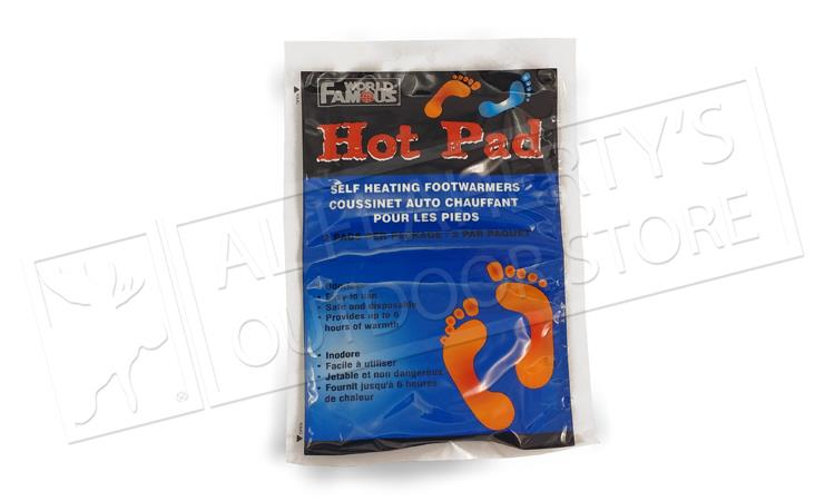 Hot Pad Self Heating Foot Warmers, 2-Piece Package #3303