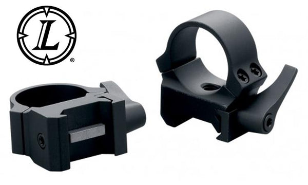 "Leupold QRW Scope Rings, 1"" High Matte #49858"
