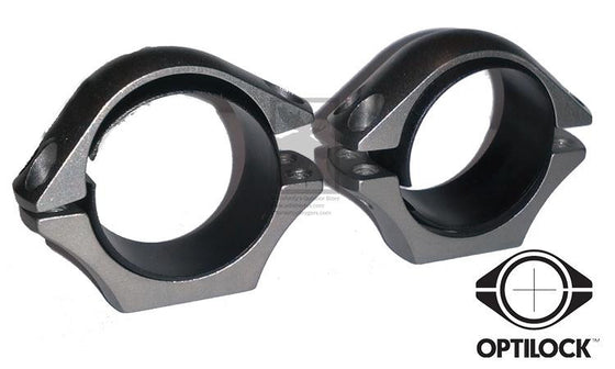 "Sako Optilock Scope Rings, 1"" Xtra Lo Stainless Steel #S130R923"