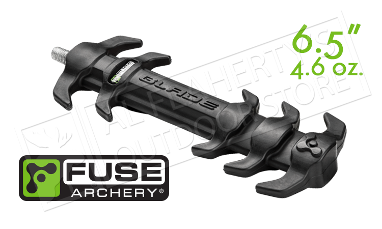 "Fuse Archery FlexBlade Stabilizer, 6.5"" 4.6 oz. #635332"