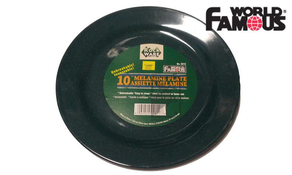 "World Famous Rockware Plate, 10"" #2812"