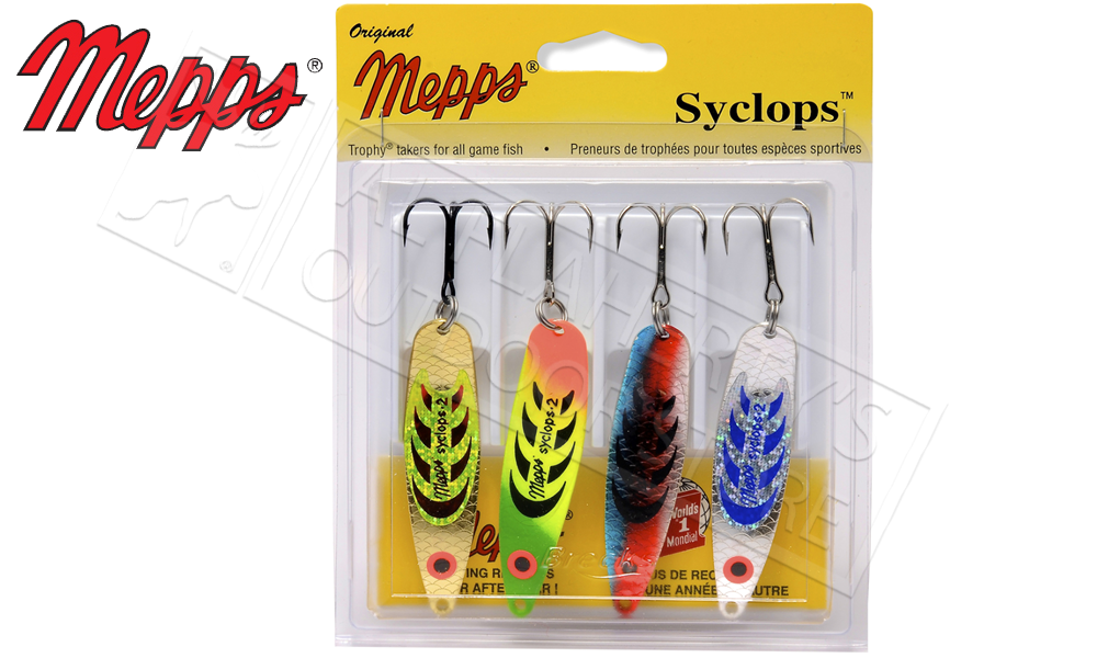Mepps Kit - Syclops 4-Pack, Size 2 #4-S