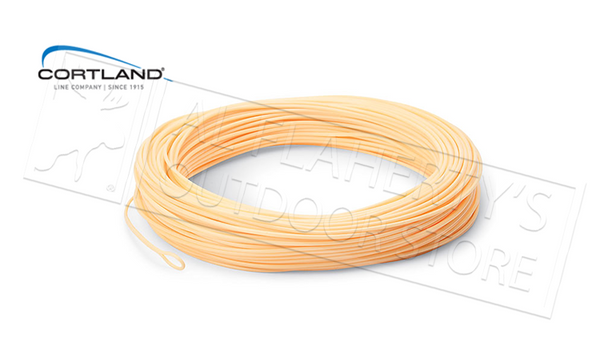 Cortland 444 Classic Fly Line, Floating Rocket Taper #10 - Peach, 30 Yards #403109F