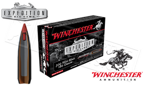 Winchester 300 Winchester Magnum Accubond CT Expedition Big Game, Polymer Tipped 180 Grain Box of 20 #S300WMCT
