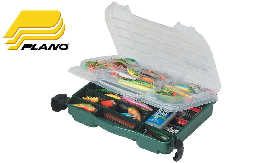 Plano 3950-10 Lockjaw Double Cover Tackle Organizer