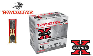 "<b>(Store Pickup Only)</b><br>12 Gauge, Winchester Super X Upland Shells, 2-3/4"", 1-1/4 oz. #4 or 5 Shot, 1220 FPS, Box of 25 <br>#X12P"